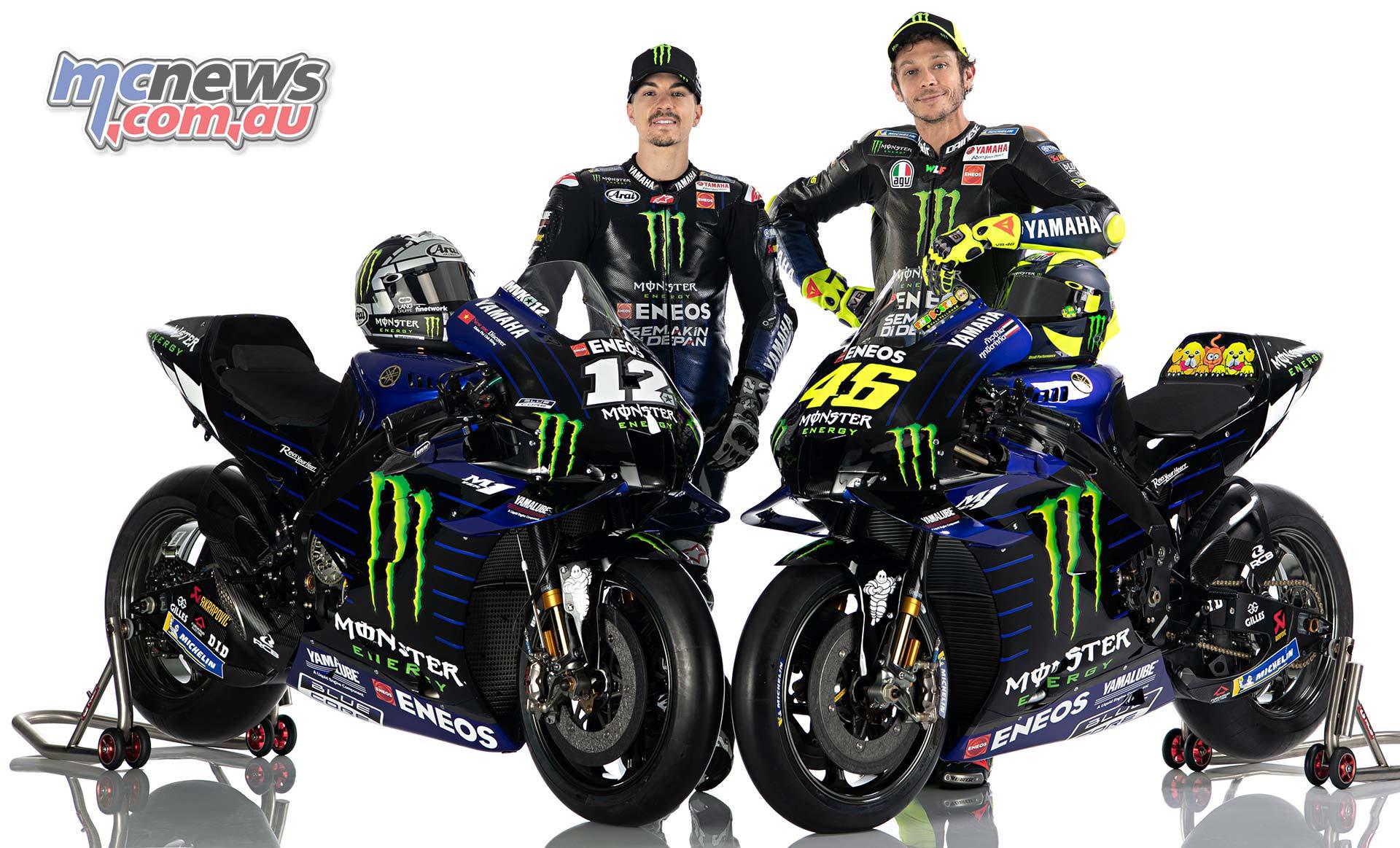 2020 Yamaha Yzr M1 And Yamaha Motogp Team Mcnews Com Au