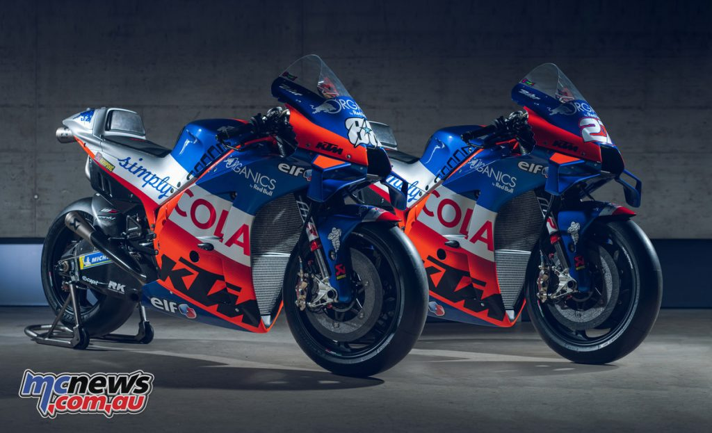 KTM RC Red Bull KTM Tech Organics MotoGP Static