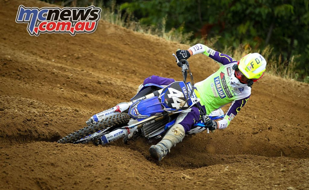 Altherm JCR Yamahas Maximus Purvis powers his way into second overall in the MX championship in Rotorua