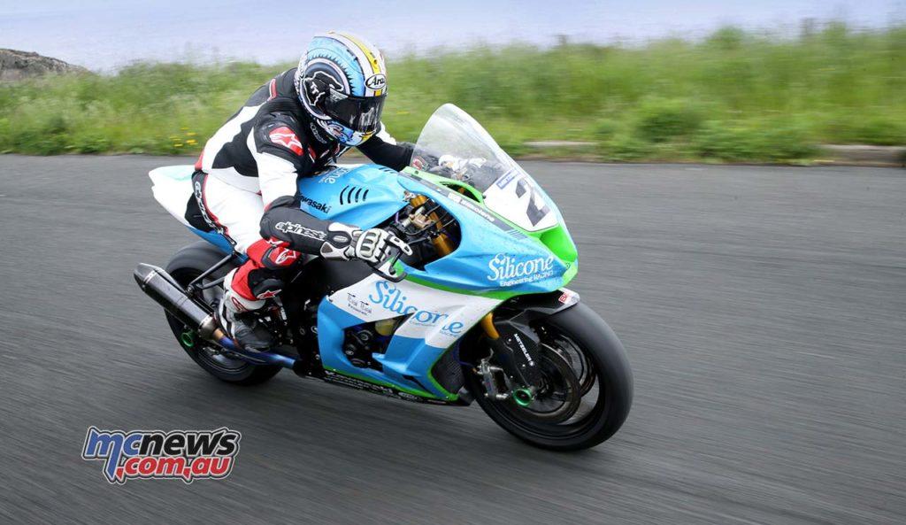 Dean Harrison Senior TT Winner Adam Action