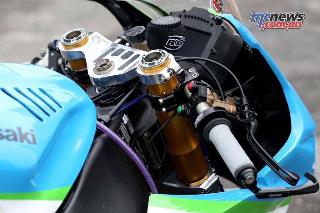 Dean Harrison Senior TT Winner Cockpit