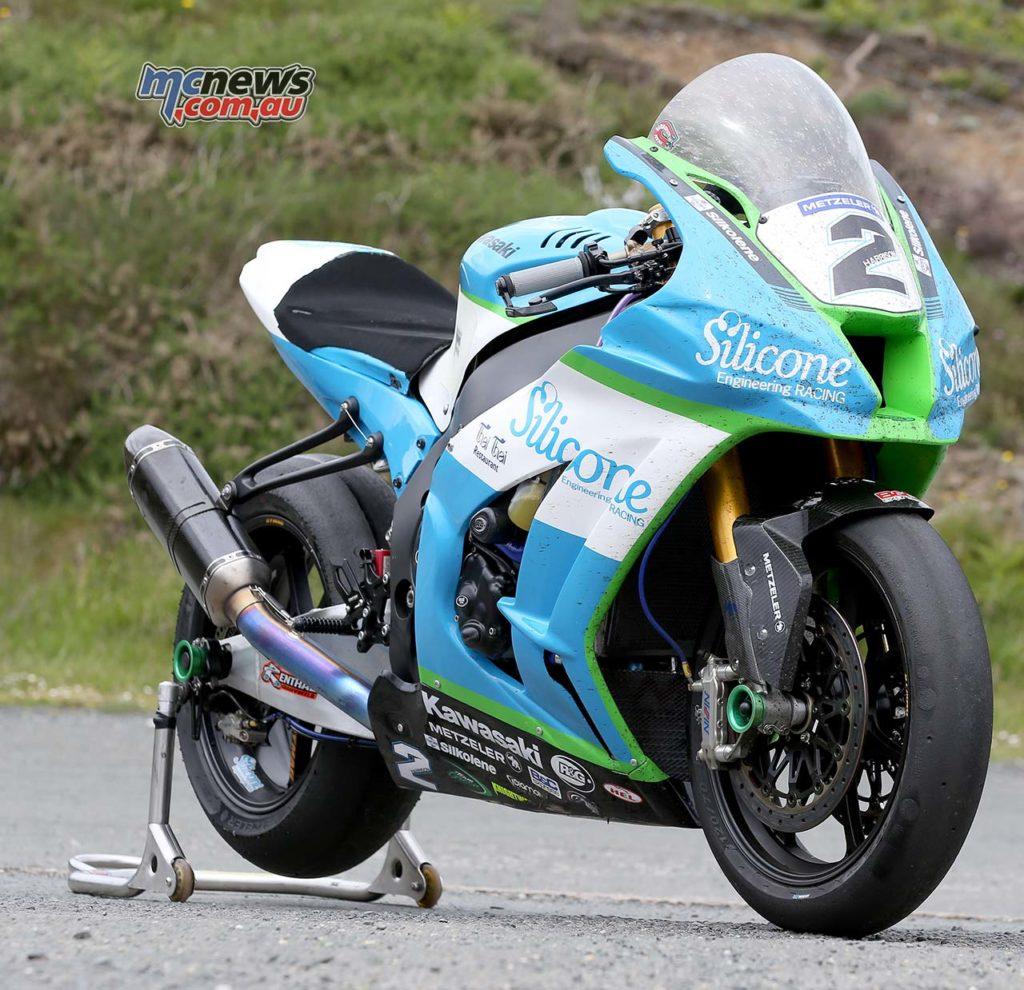 Dean Harrison Senior TT Winner RHF