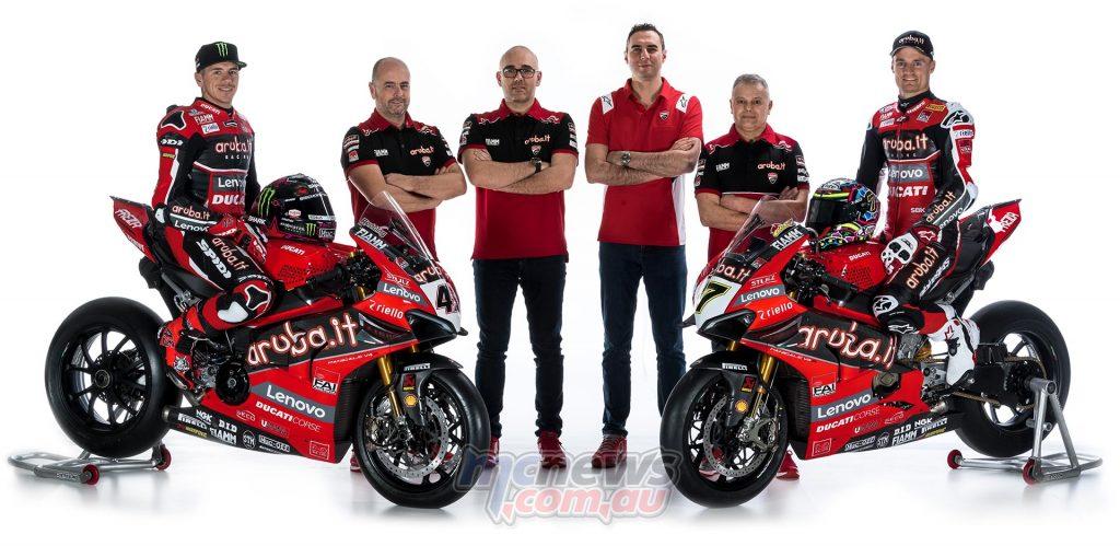 Ducati WorldSBK Team Panigale VR Team