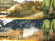 FLY Lite Hydrogen Limited Edition Military Racewear