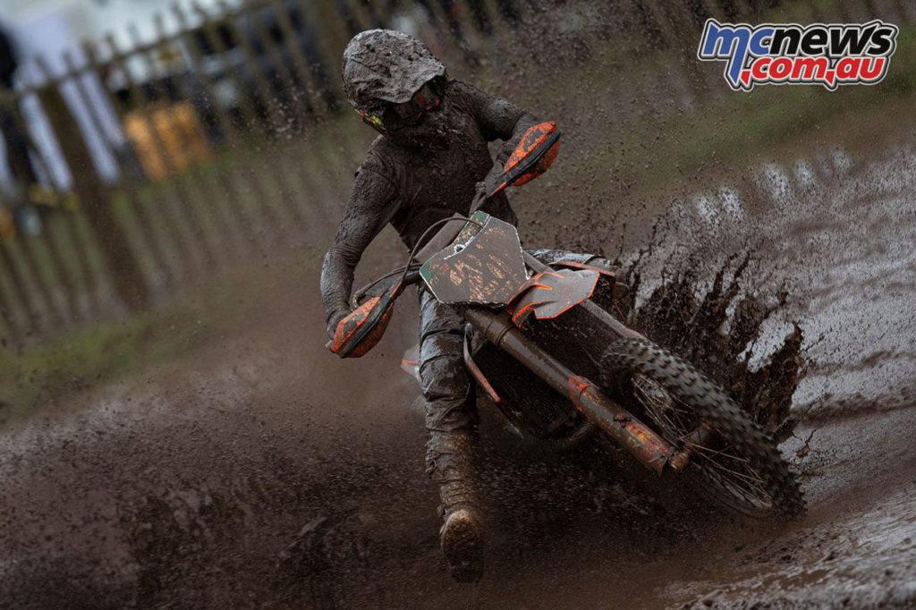 Tom Vialle KTM Hawkstone Park