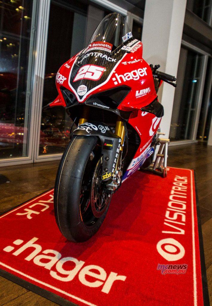 VisionTrack Ducati Brookes