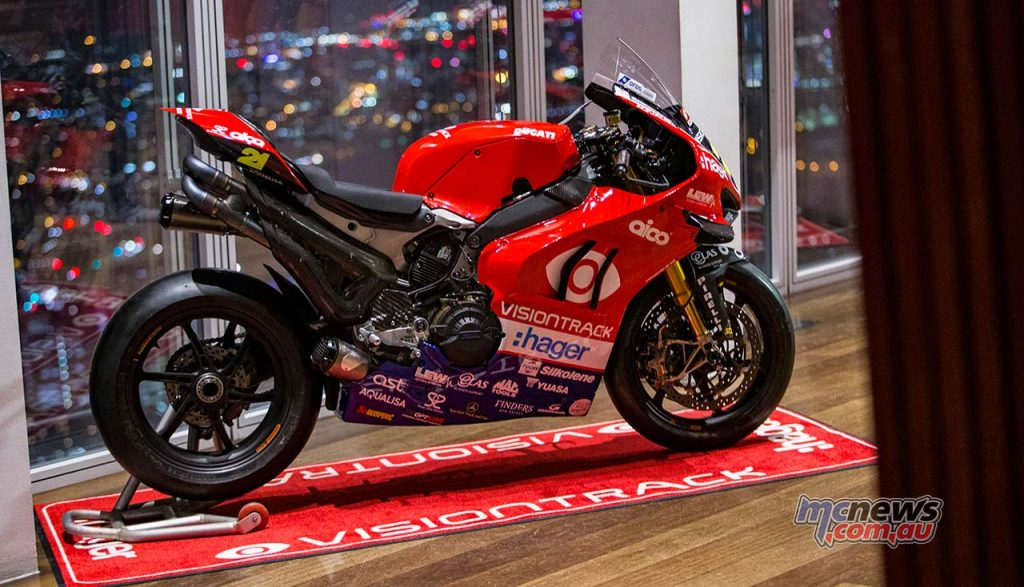 VisionTrack Ducati Iddon