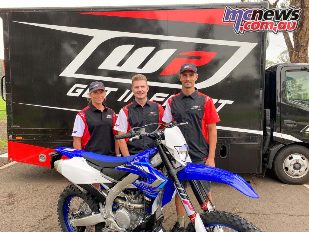 WP Suspension Sales Manager Stefan Appelgren with Granquist Karlsson