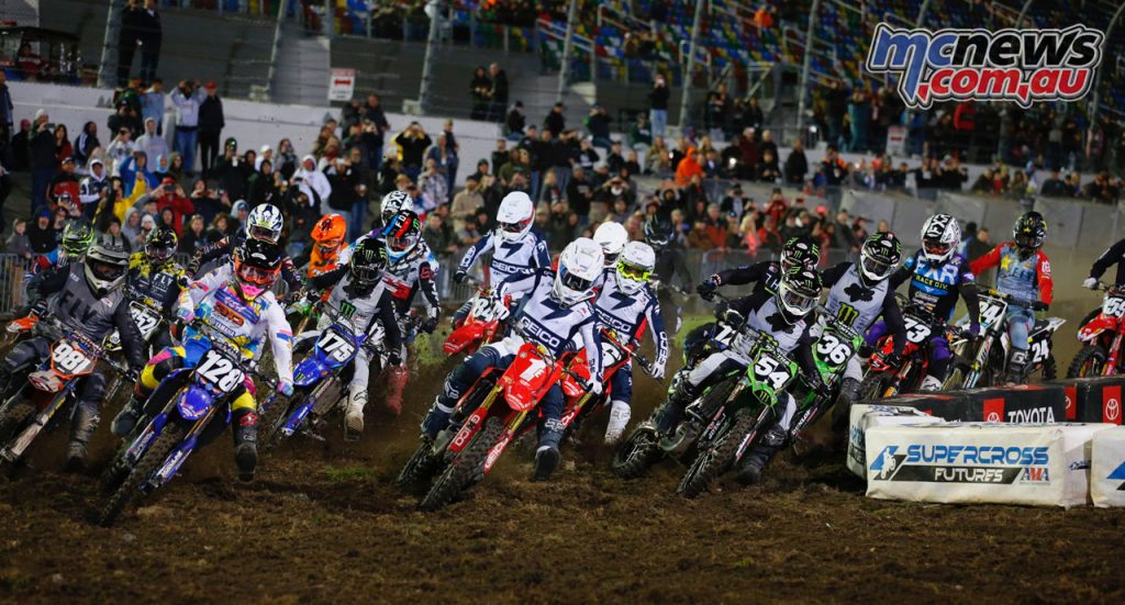 AMA SX Rnd Daytona Hoppenworld Start LM
