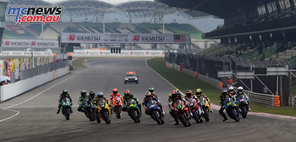 ARRC Rnd Sepang SS Race Start