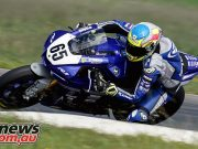 ASBK Wakefield Park Test TDJ Cru Halliday left cover