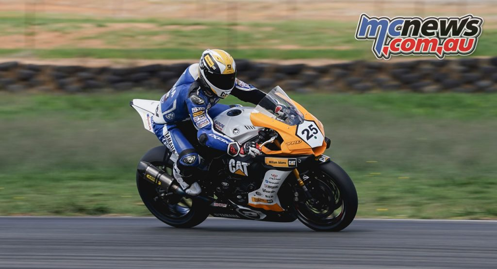 ASBK Wakefield Park Test TDJ Daniel Falzon braking
