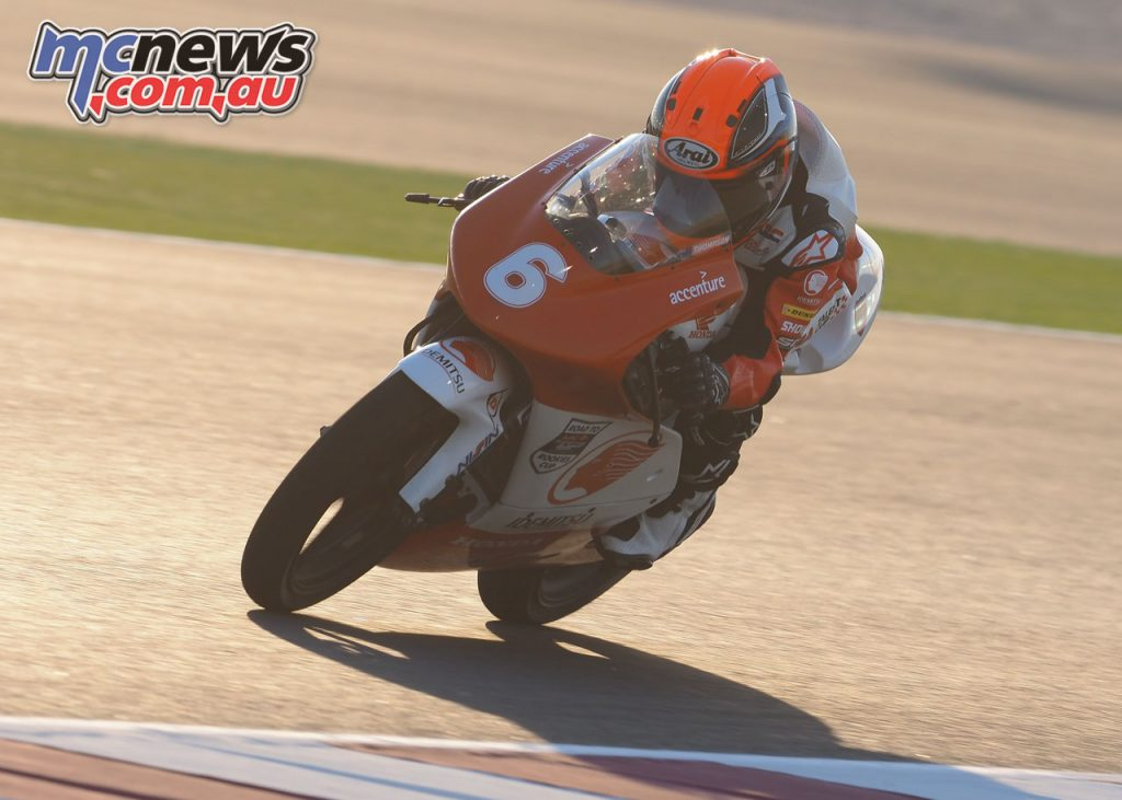 Asia Talent Cup Rnd Qatar Gibbons