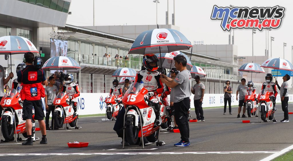 Asia Talent Cup Rnd Qatar Grid