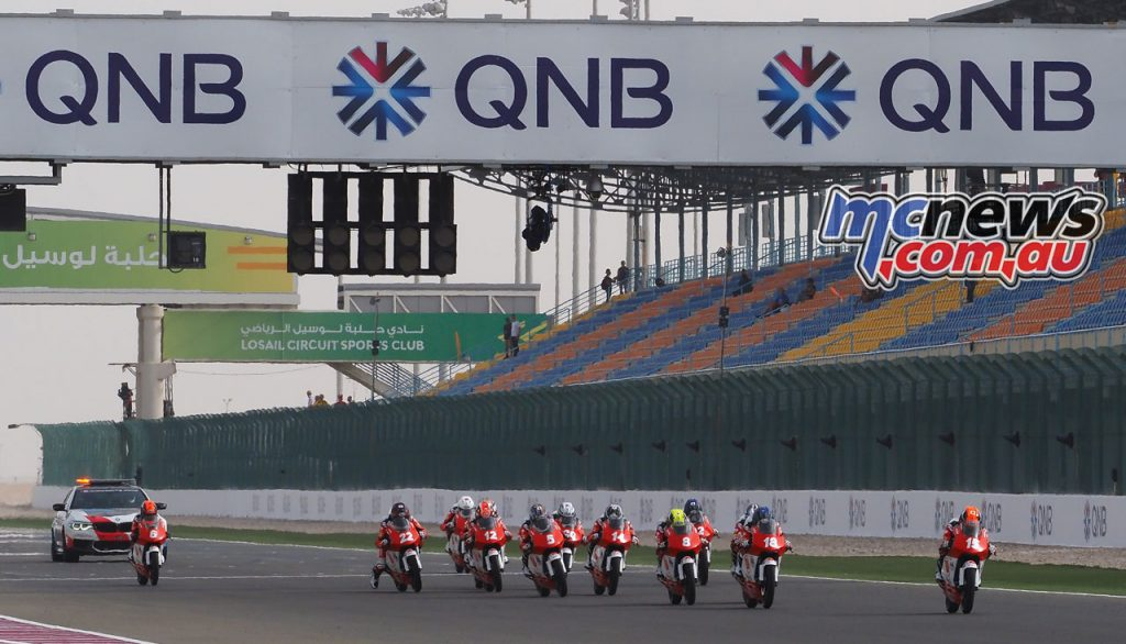 Asia Talent Cup Rnd Qatar Race Start