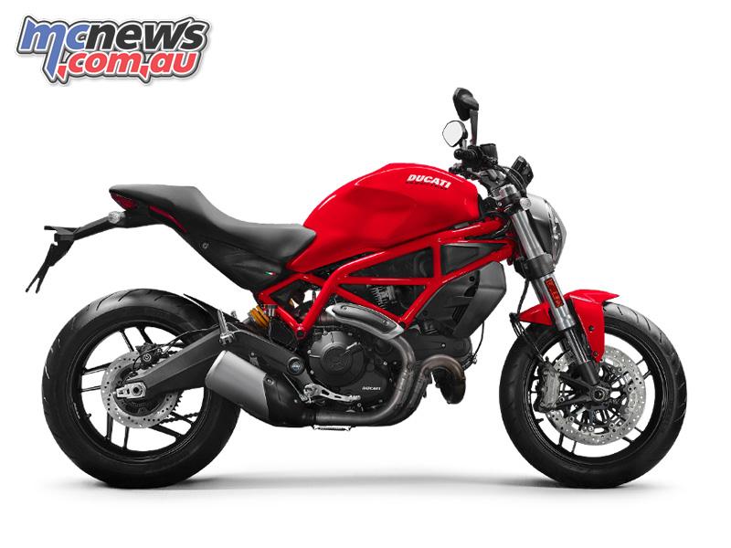 Ducati Monster bike hero image