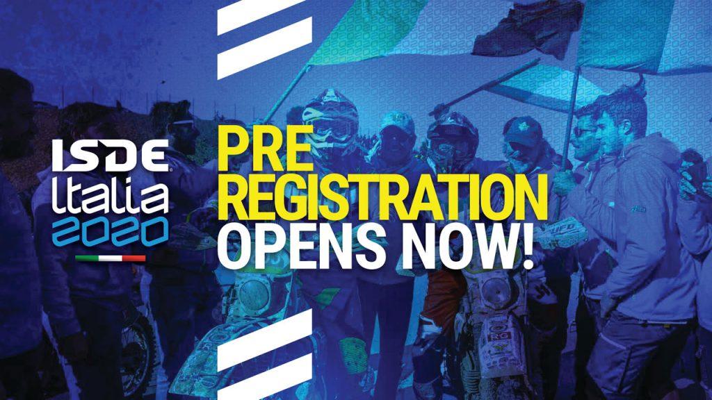 FIM ISDE pre registration opens