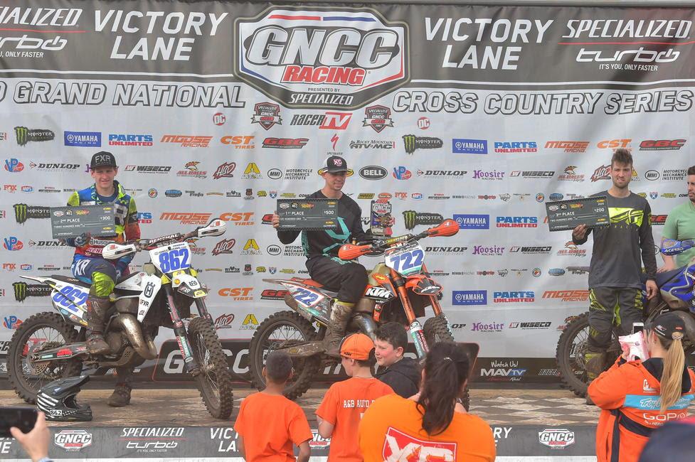GNCC Rnd Wild Boar Zack Hayes FMF XC Pro Am class win