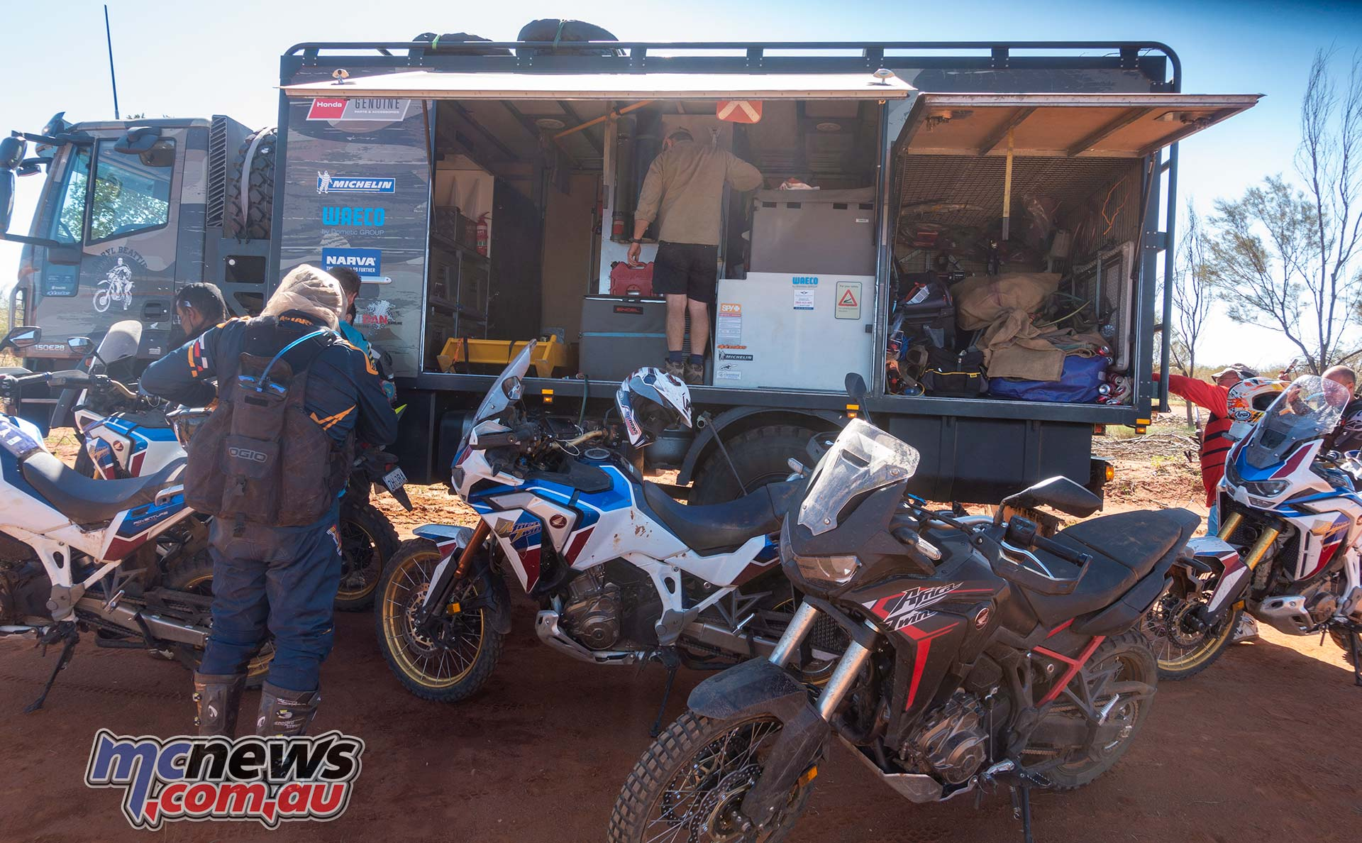 Honda Africa Twin Day Lunch