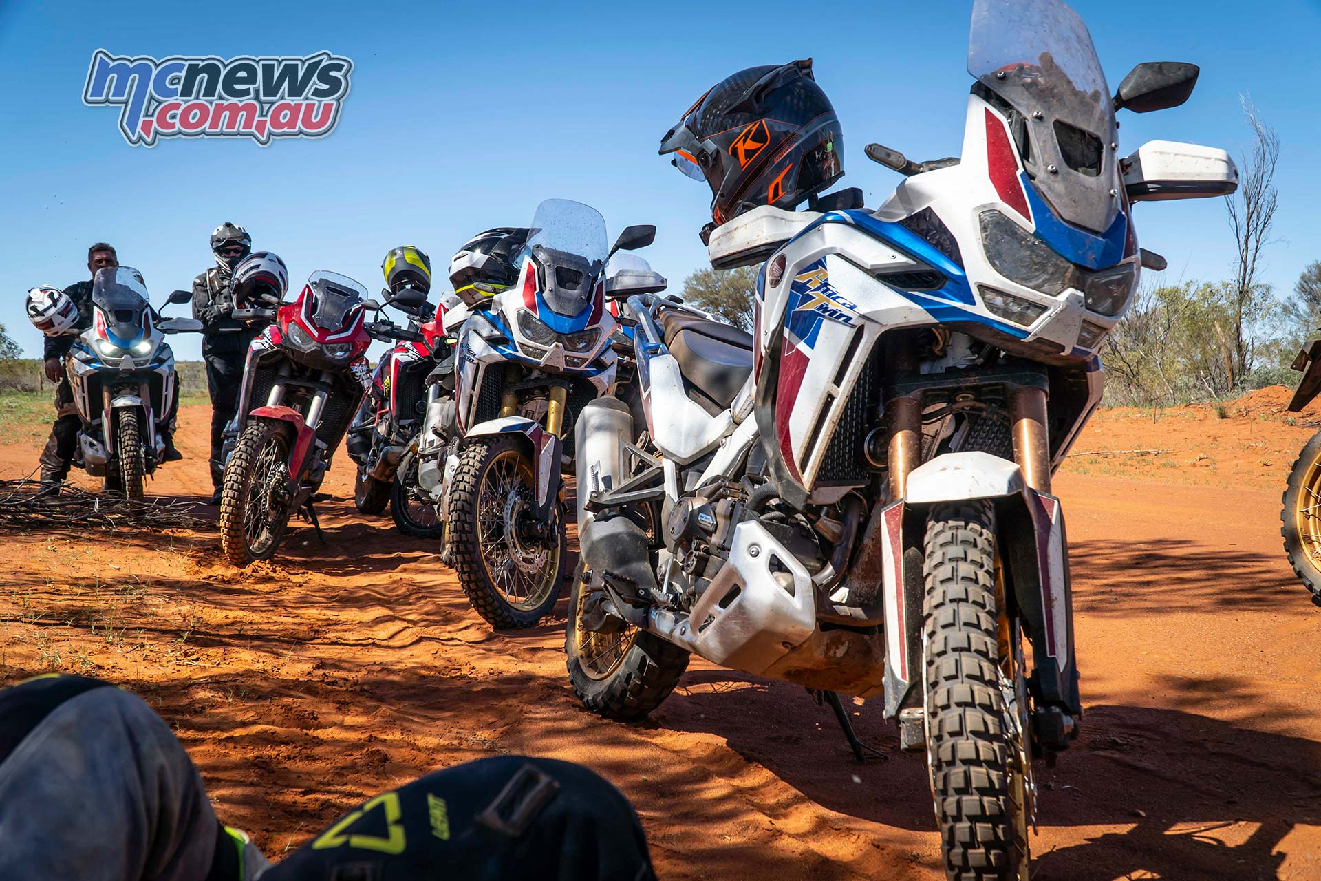 Honda Africa Twin Group