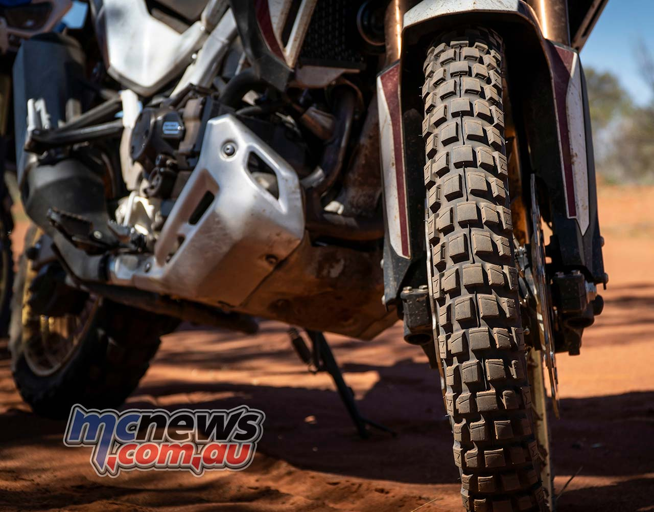 Honda Africa Twin Michelin