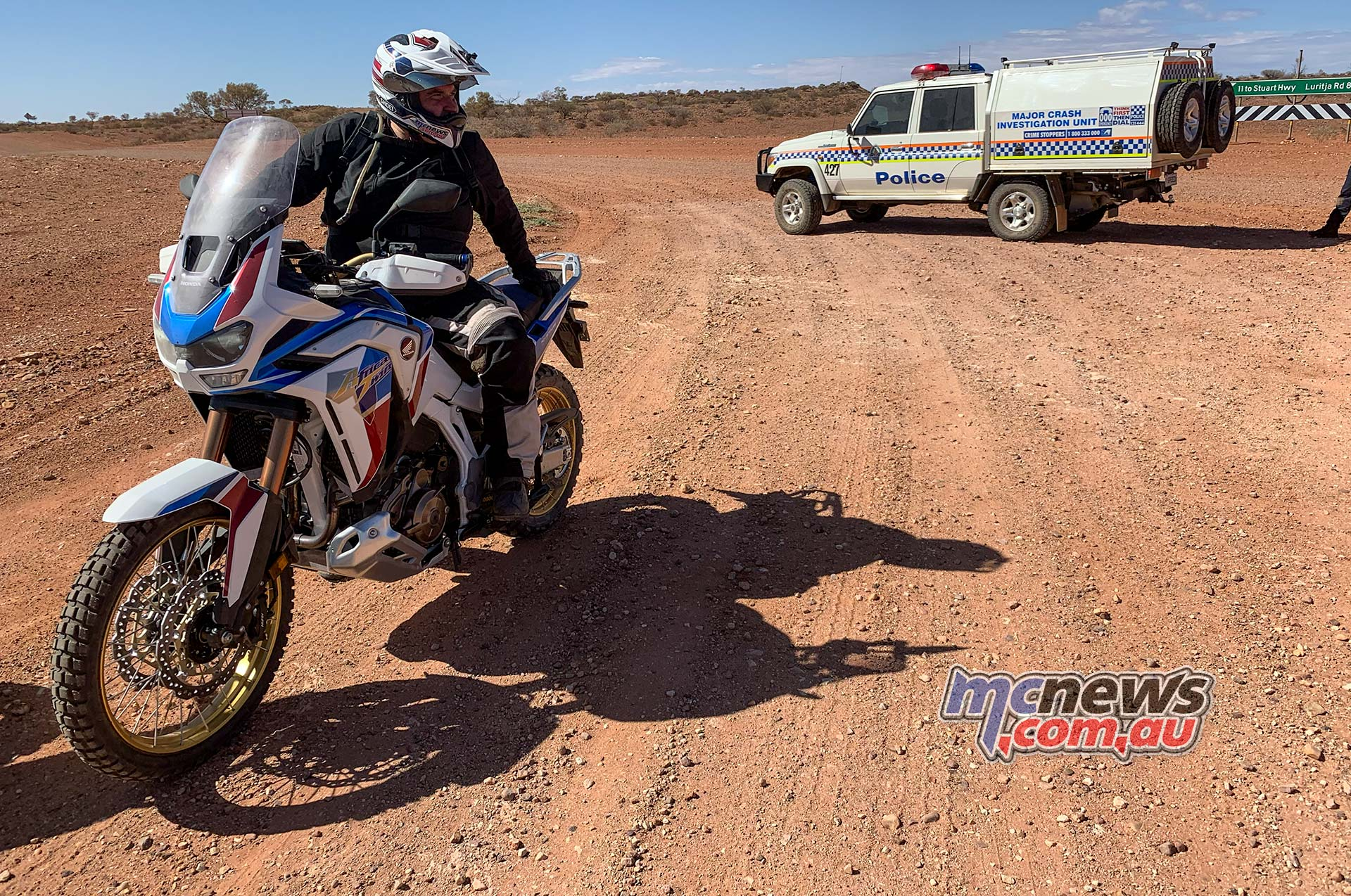 Honda Africa Twin Police