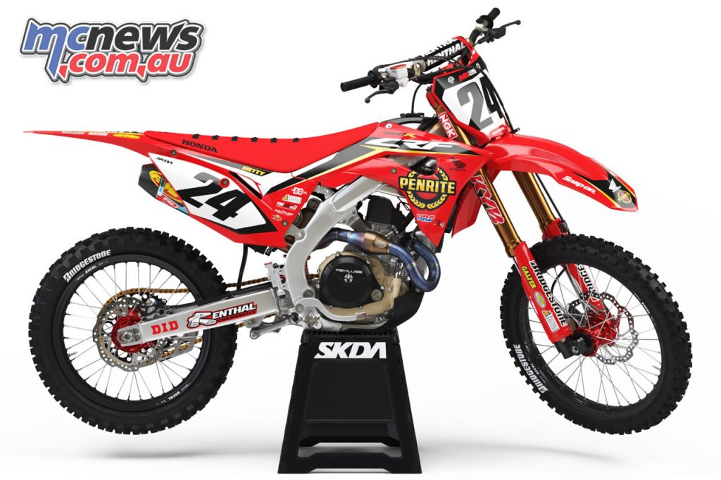 MX Nationals Penrite Oils Honda Racing Team