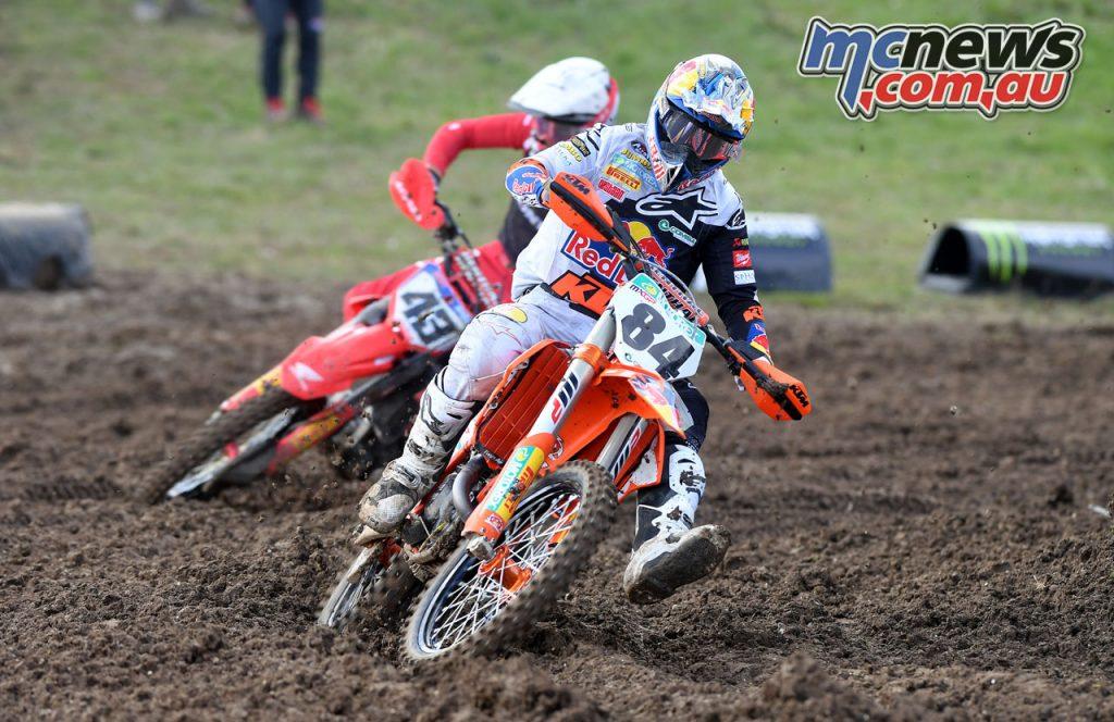 MXGP Rnd Jeffrey Herlings Mitchell Evans