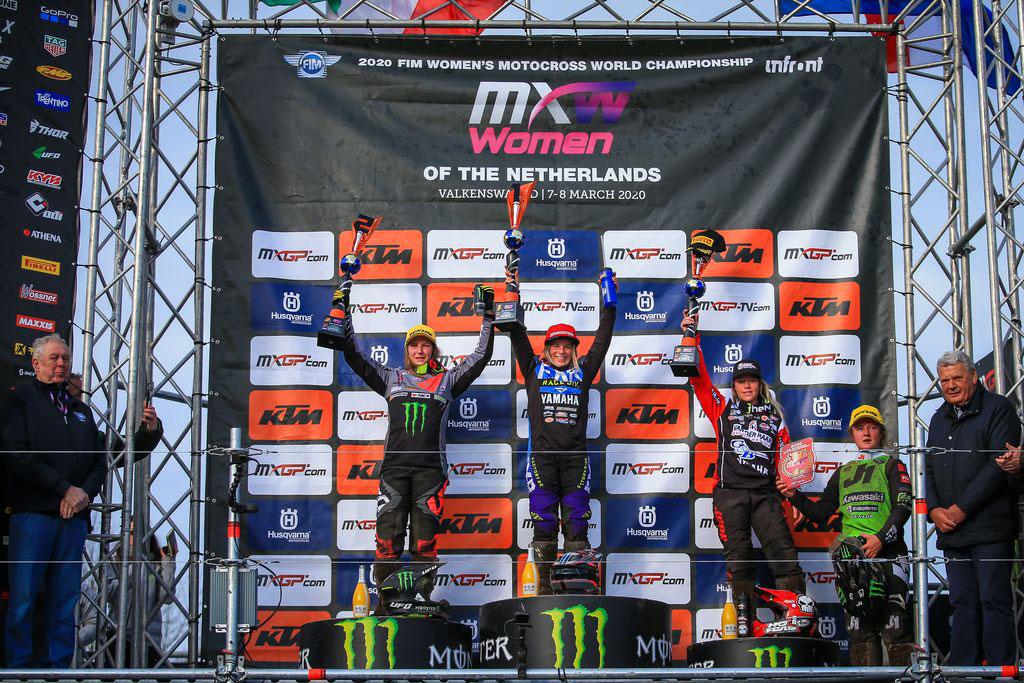 MXGP Rnd Netherlands WMX Podium