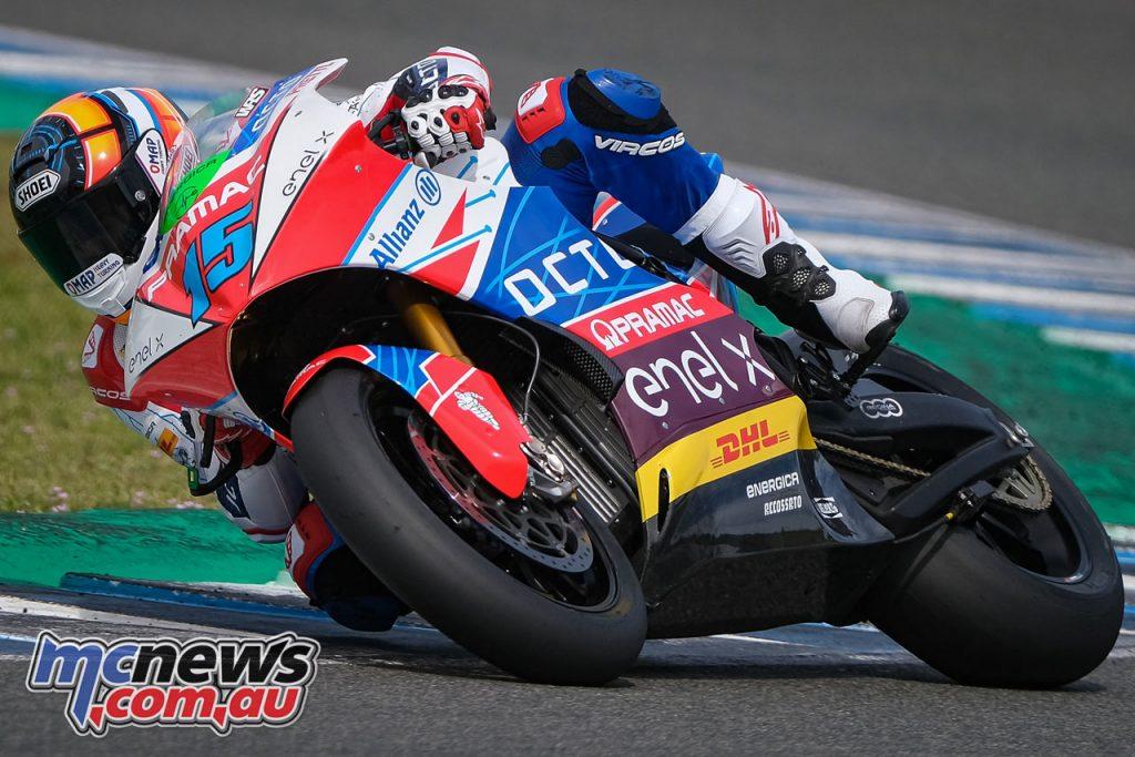 MotoE Jerez Test March De Angelis