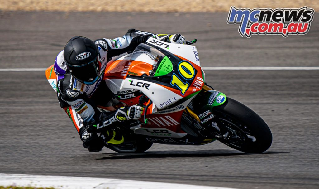 MotoE Jerez Test March Simeon A