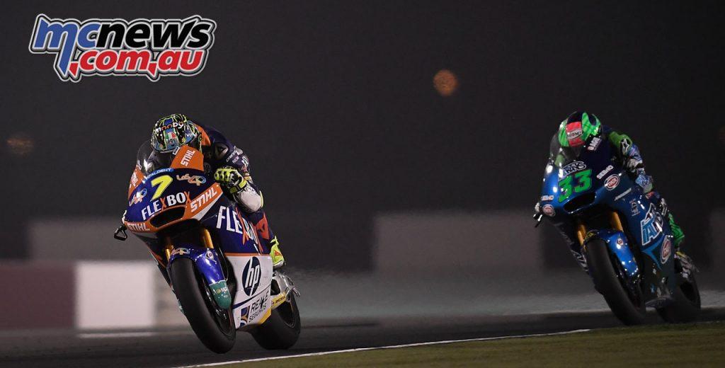 MotoGP Rnd Qatar Baldassarri Bastianini
