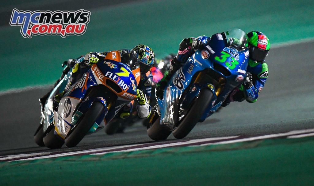 MotoGP Rnd Qatar Bastianini