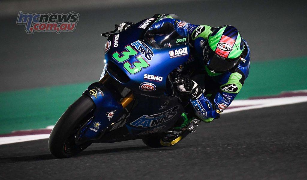 MotoGP Rnd Qatar QP Moto Bastianini