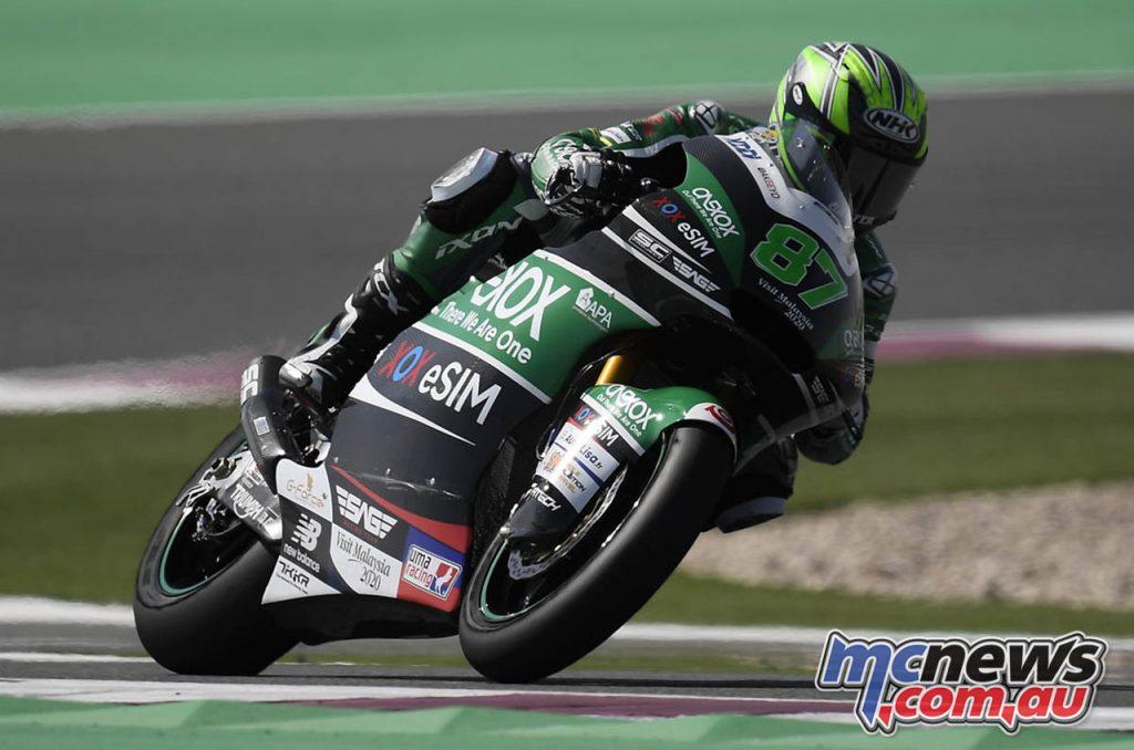 MotoGP Test Qatar Moto Remy Gardner
