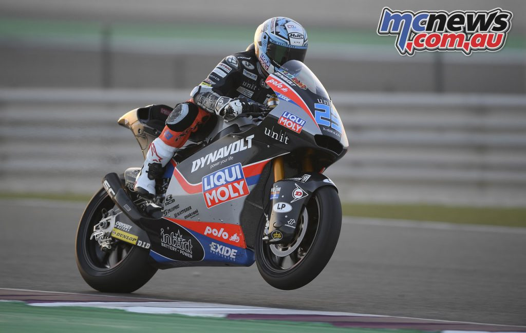 MotoGP Test Qatar Moto Schrötter