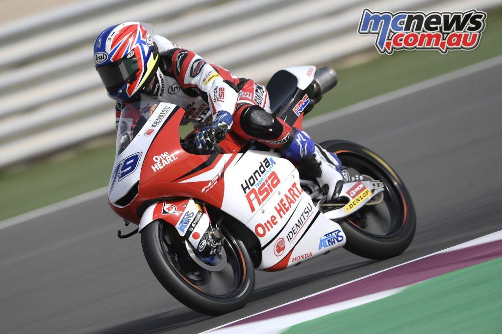 MotoGP Test Qatar Ogura Moto