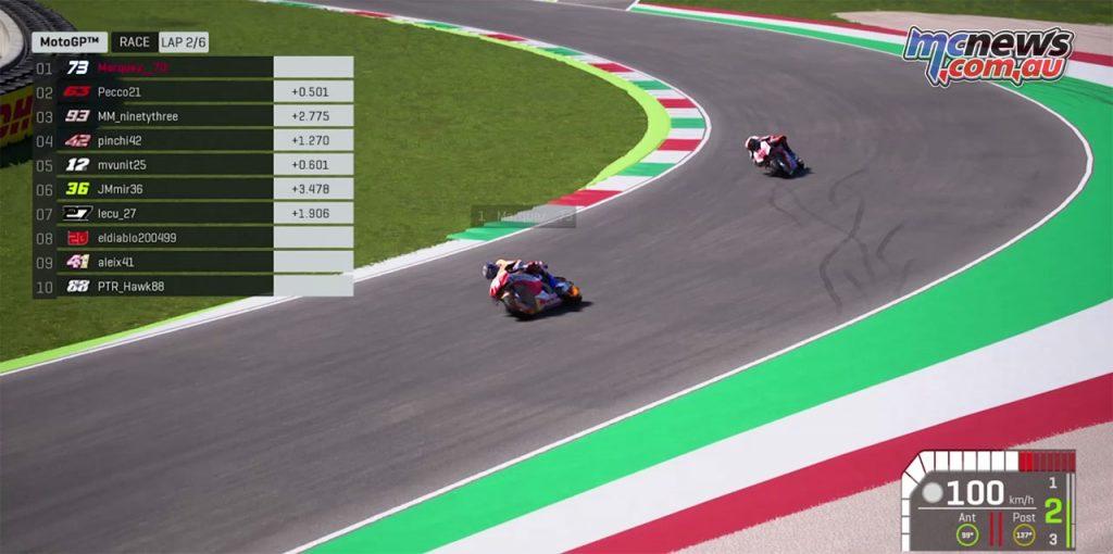 Virtual MotoGP R Alex Marquez