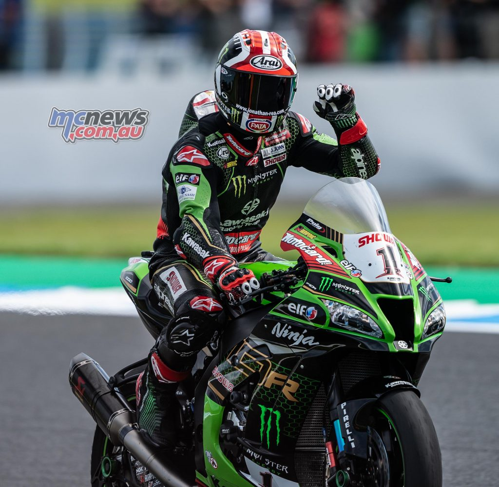 WorldSBK Rnd R R Phillip Island WorldSBK Sunday Rea