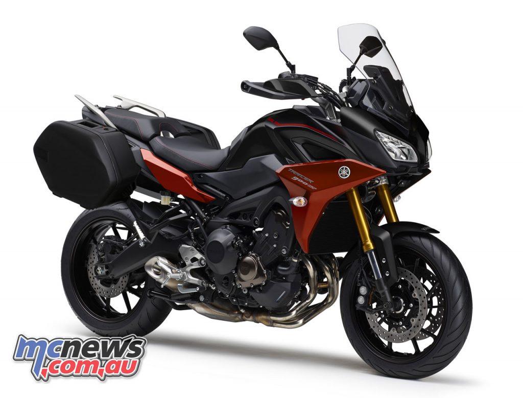 Yamaha Tracer GT Tech Black AU MDNM Panniers