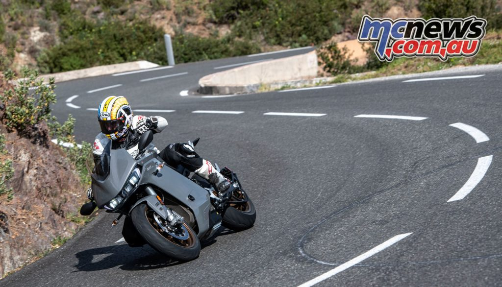 Zero SR S Electric Motorcycle Review AC