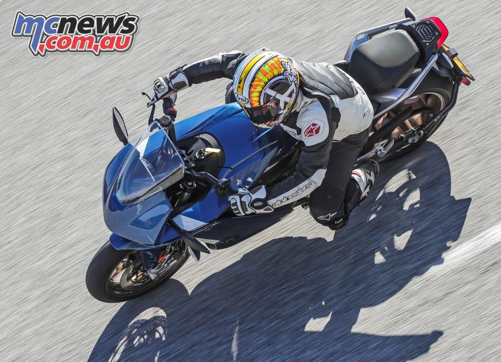 Zero SR S Electric Motorcycle Review ARI