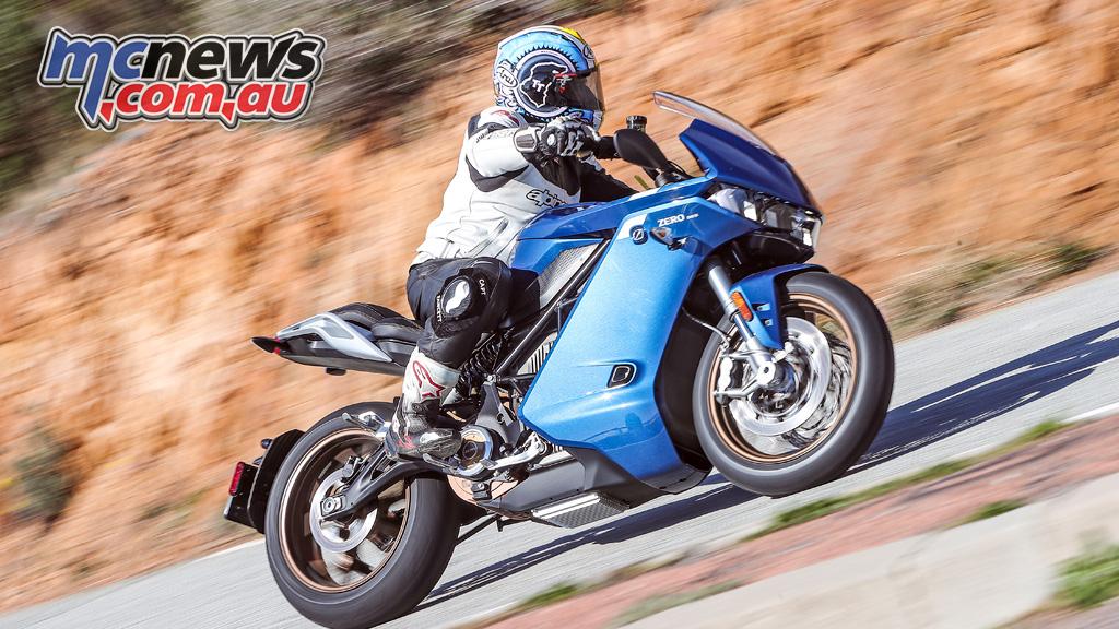 Zero SR S Electric Motorcycle Review ARI Cover