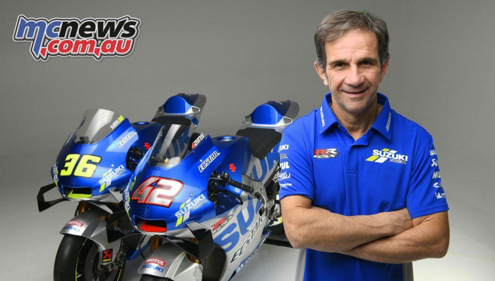 Davide Brivio Team Suzuki Ecstar Team Manager