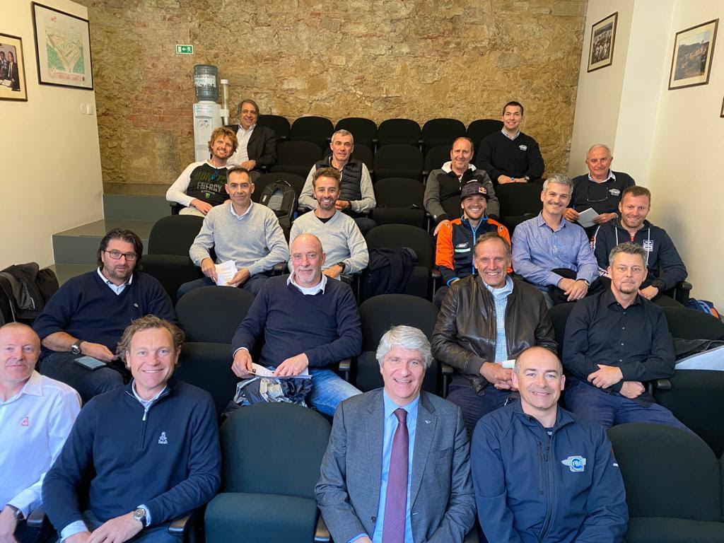FIM Rally Safety Meeting