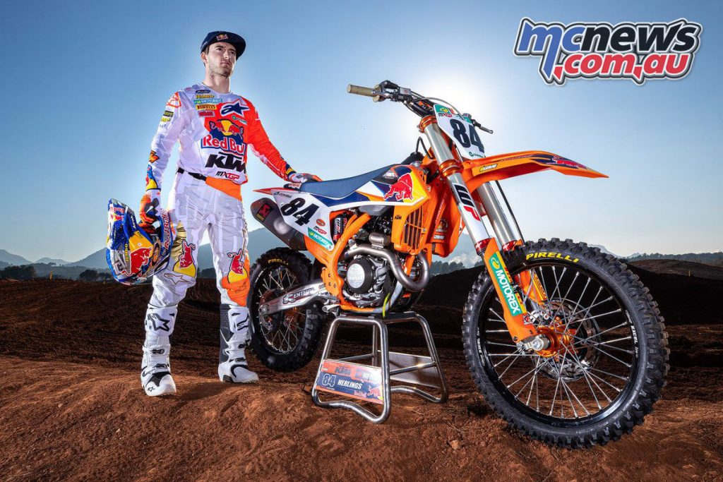 Jeffrey Herlings KTM SX F Red Bull KTM Factory Racing