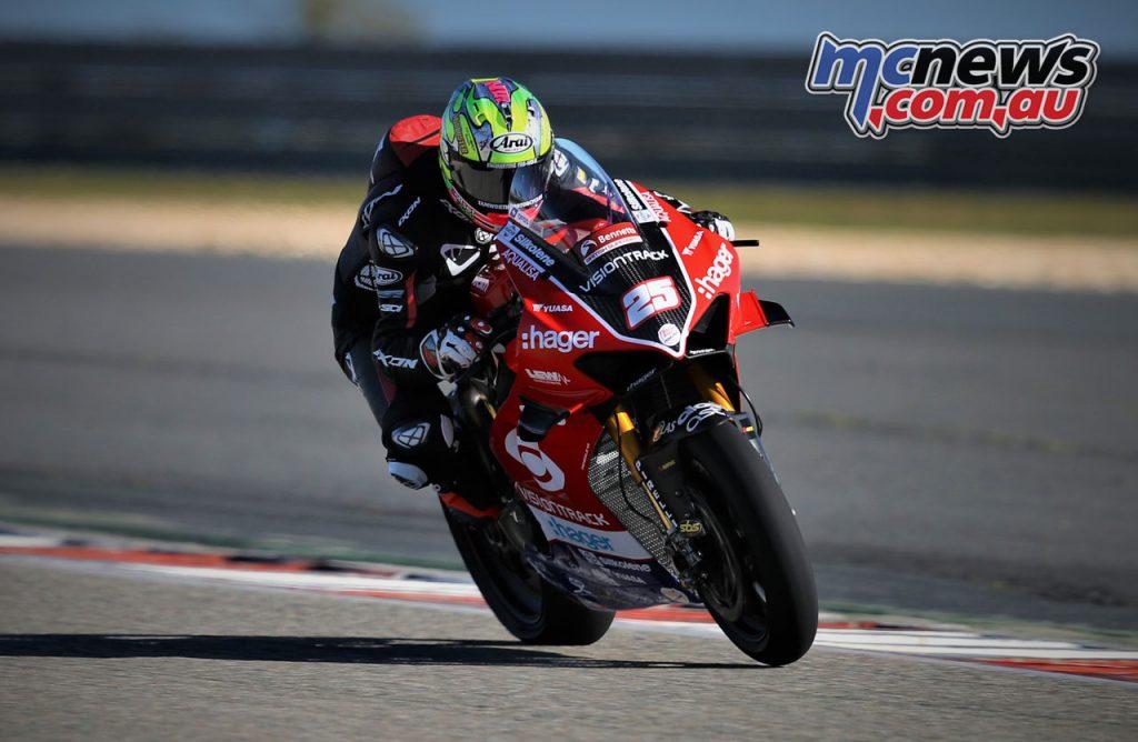 Josh Brookes VisionTrack Ducati