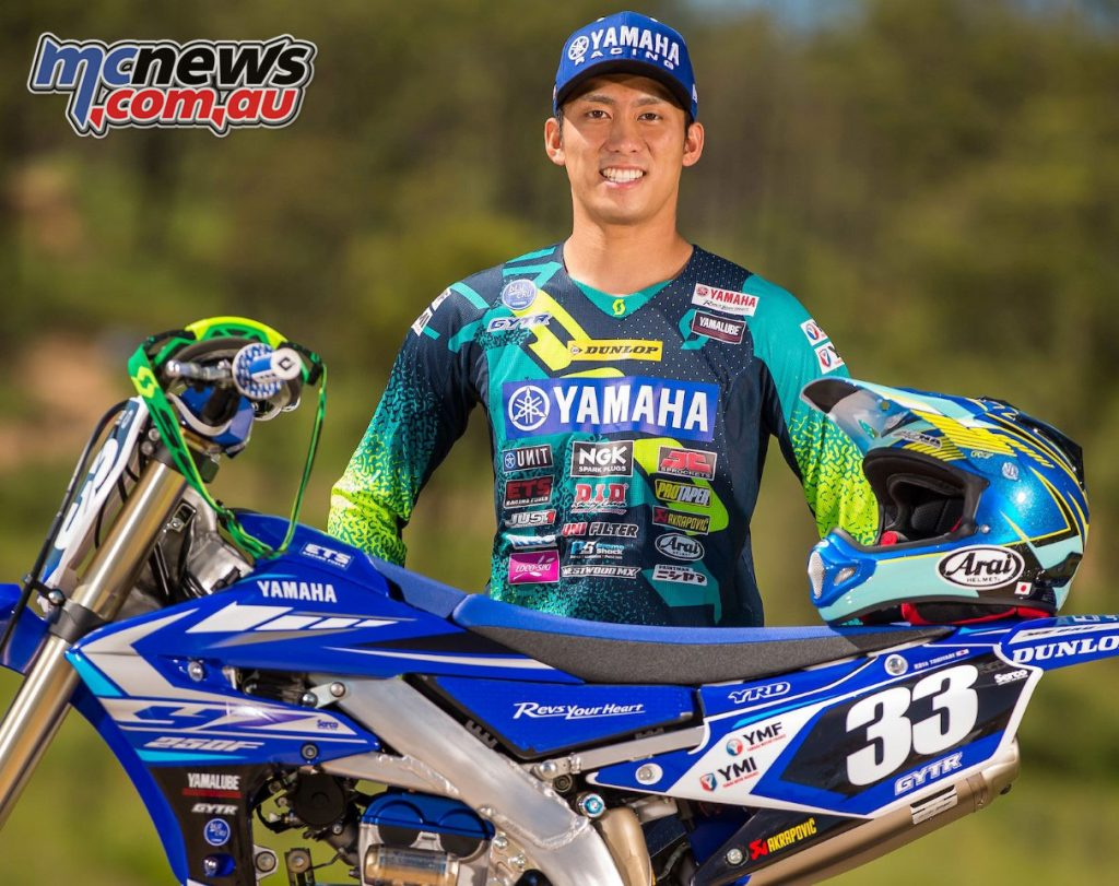 Kota Toriyabe joins Yamalube Yamaha Racing Team