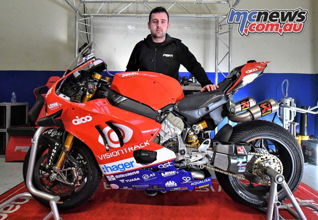 Michael Dunlop VisionTrack Ducati