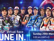 MotoGP Virtual Race March
